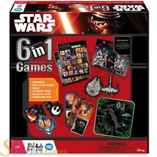Ravensburger Star Wars The Force Awakens 6 In 1 Childrens Board Game