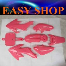 Pink Plastic Fairing Cover Honda CRF 50cc 70cc 90cc Kids Dirt Bike Pit Pro Trail