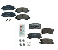 For Dodge Avenger Jeep Compass Mitsubishi Lancer Front+Rear Brake Pads Kit Bosch