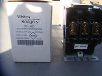 *NEW* WHITE RODGERS 92-463 3 POLE CONTRACTORS HIGH AMP, 24V COIL, 60 AMP FLA