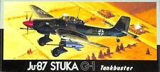 Fujimi 1:72 Ju-87 Stuka G-1 Tankbuster Plastic Aircraft Model Kit #7A-F15