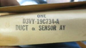 NEW - OEM Ford D3VY-19C734-A DUCT & SENSOR AY 1973 LINCOLN
