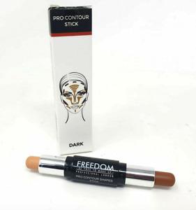 FREEDOM MAKEUP Pro Contour Stick - Sculpt & Highlight Cream Duo Kit 3 Shades