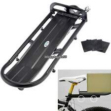 Generic Black Mountain Cycling Bicycle Bike Seat Post Rear Carrier Rack Metal
