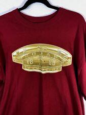 USC Trojans 100% Cotton Team Pride Jerzees Tee Shirt Size L