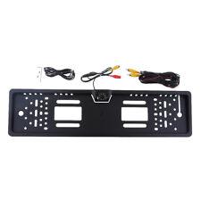 170° LED Rückfahrkamera kennzeichen Nummernschild Einparkhilfe mit 8 LEDs