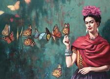 "MX06273 Frida Kahlo - 1907- 1954 Self–Taught Self Portraits Art 19""x14"" Poster"
