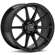 "ENKEI TS-10 17x8"" TUNING SERIES Wheel Wheels 4X100/5x100/114.3 ET35/40/45 BLACK"