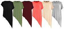 Unbranded Women's Hip Length Scoop Neck Casual Tops & Shirts