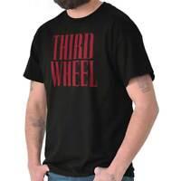 Third Wheel Dating Couples Funny Valentines Short Sleeve T-Shirt Tees Tshirts