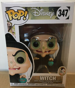 Disney Snow White And Seven Dwarves Evil Queen as witch Funko Pop! Vinyl #347