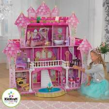 Doll Houses for Toddlers Barbie Dollhouse 26 Pieces of Furniture 3 Wooden Lilac