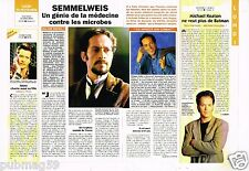 Coupure de presse  Clipping 1995 Philippe Colter Semmelweiss