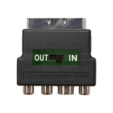 Zxtech Scart to Phono Adaptor Simple and Scientific Design for Input or Output