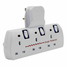 Innoteck DS-2218 3-Way Wall Adapter Socket - White