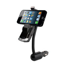 FM Transmitter Bluetooth MP3 Player LCD Car Kit Holder Charger For iPhone LG