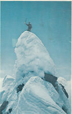 Australian Andean mountain climbing expedition 1969 postcard signed at back