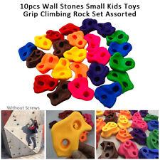 10pcs Plastic Climbing Holds Grips Children Kids Rock Climbing Wall Stones