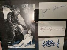 Creature from the Black Lagoon famous universal monsters w 3 signatures pp