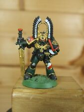 CLASSIC METAL WARHAMMER DARK ANGELS CAPTAIN PAINTED (2996)