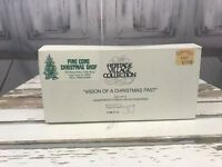 Department 56 Heritage Village Collection Vision of Christmas Past Xmas Holiday