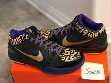 Nike ZOOM KOBE IV 4 POP FINALS MVP DS Sz 11.5
