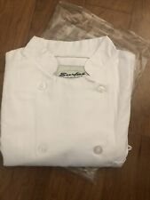 Men's Chef Coat -White color, Size Xl. #5053 Surfas Threads Discontinued! Rare!