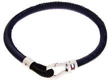 Tommy Hilfiger Casual Herrenarmband 2700880 Textil mit Leder ummantelt 21cm