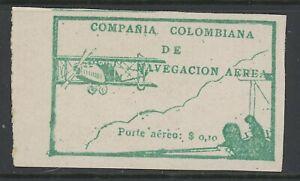 GN STAMPS- COLOMBIA, MINT, #C11, OG LH, FANTASTIC CENTERING