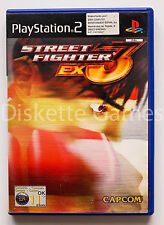 STREET FIGHTER EX 3 - PLAYSTATION 2 PS2 PLAY STATION - PAL ESPAÑA - EX3 PLUS