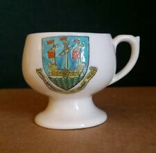 Arcadian Crested Ware Mug -  Arms of Weymouth and Melcombe Regis
