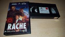Rache - Söldner des Todes - Olivier Gruner - John Ritter  - VHS - ab 18