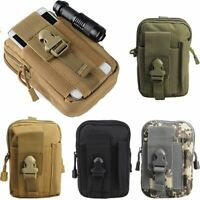 Outdoor Waist Bag Tool Bushcraft Tactical Pouch Molle Military Army Backpack