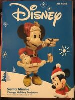 NEW Disney Santa Minnie Vintage Holiday Sculpture - FREE SHIPPING