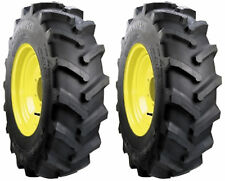 TWO 9.5-16 Carlisle Farm Specialist R-1 6 ply Tires Made for Compact Tractors