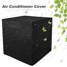 Black Outdoor Air Conditioner Waterproof Dustproof Protector Cover