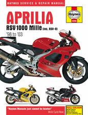 Aprilia Rsv1000 Mille 1998- 2003 Haynes Manual 4255