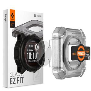 Garmin Instinct Screen Protector | Spigen® [EZ FIT GLAS.tR]Shockproof Slim