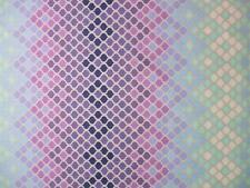 "Tula Pink Eden Mosaic Glacier Stripe Free Spirit Fabric 32"" Remnant"
