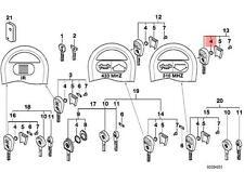 Genuine BMW E34 E36 E38 E39 E46 E52 E53 Ignition Key Battery OEM 51218201226