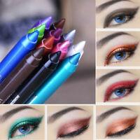 2pc Waterproof Longlasting Eyeliner Pigment Eye Liner Pen Pencil Makeup Cosmetic