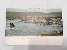 Vintage Postcard Palermo Panorama Dalla Villa Bonville Unposted