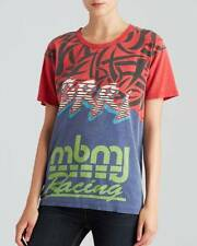 Marc Jacobs Cambridge Red Motocross Ryder S/S Tee Top NWT S