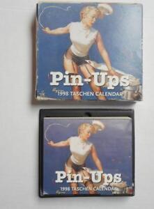 1998 Taschen Pin-Ups Desk Calendar in orig. box
