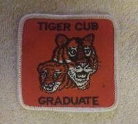 "Vintage ""Tiger Cub Graduate"" Boy Scout Patch"