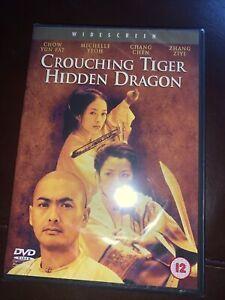Crouching Tiger, Hidden Dragon (DVD, 2000) Brand new Sealed