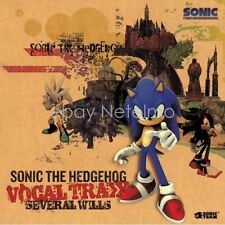 SONIC THE HEDGEHOG VOCAL TRAX SEVERAL WILLS SOUNDTRACK CD Music MIYA