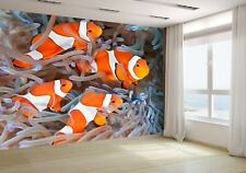 Clownfish on the Coral Wallpaper Mural Photo 20189311 budget paper