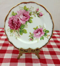 ROYAL ALBERT AMERICAN BEAUTY~6.25 INCH BREAD AND BUTTER PLATE~NICE