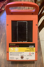 Solar Power Electric Fence Controller Lis3b Red Snapr Zareba Systems Read